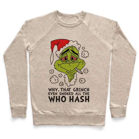 Who Hash Pullover