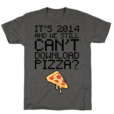 Pizza Download T-Shirt
