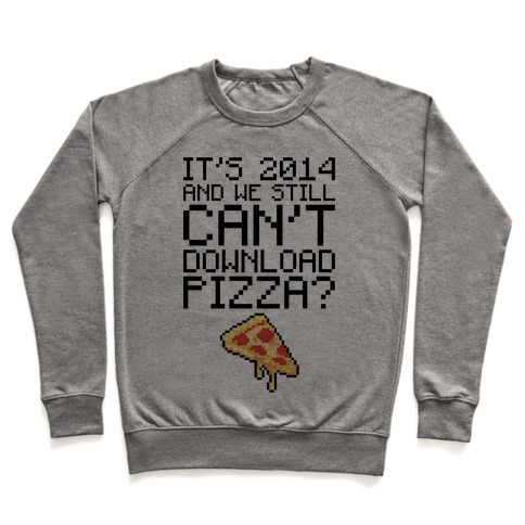 Pizza Download Pullover