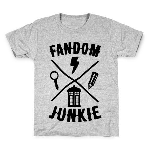 Fandom Junkie Kids T-Shirt