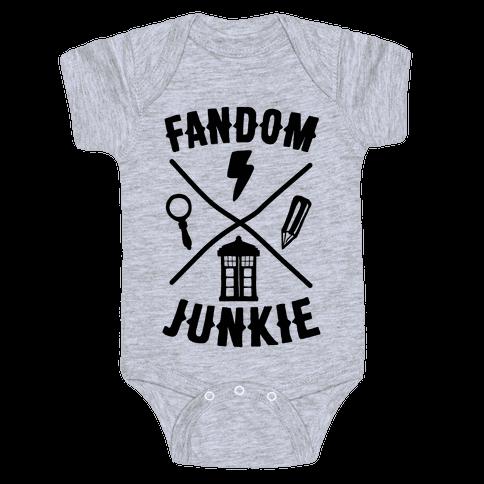Fandom Junkie Baby Onesy