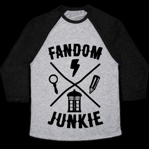 Fandom Junkie Baseball Tee