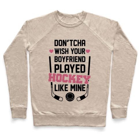 Hockey Boyfriend Pullover