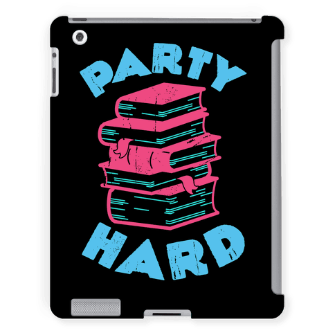 Party Hard Book Stack