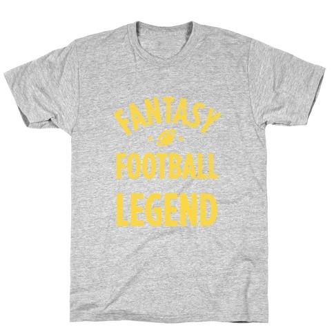Fantasy Football Legend Mens/Unisex T-Shirt