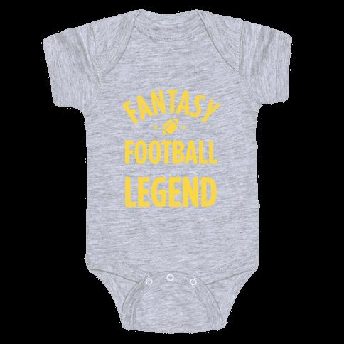 Fantasy Football Legend Baby Onesy