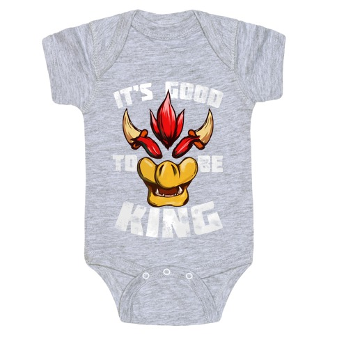 It's Good to be King Baby Onesy