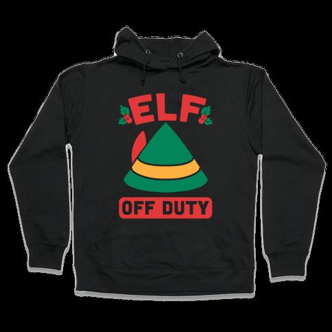 Elf Off Duty Hooded Sweatshirt