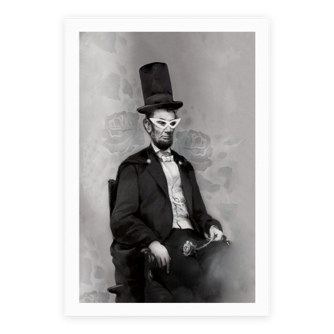 Japanese Abraham Lincoln Poster Poster