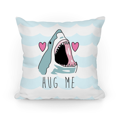 Hug Me Shark Pillow