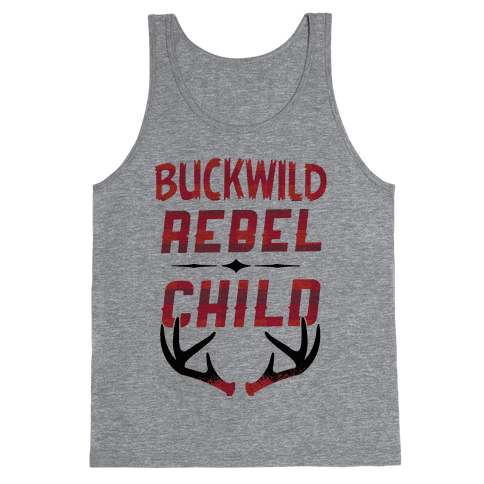 Buckwild Rebel Child Tank Top