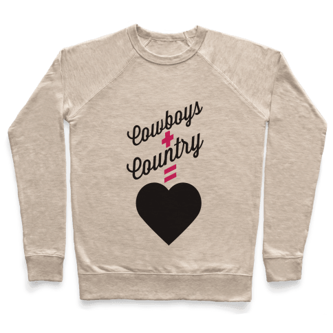 Cowboys + Country = <3 Pullover