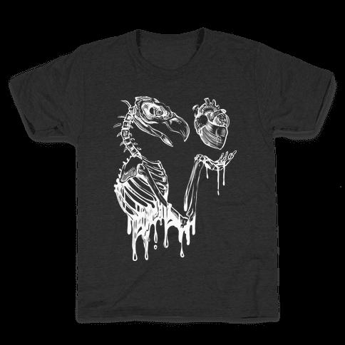 Heart Vulture Kids T-Shirt