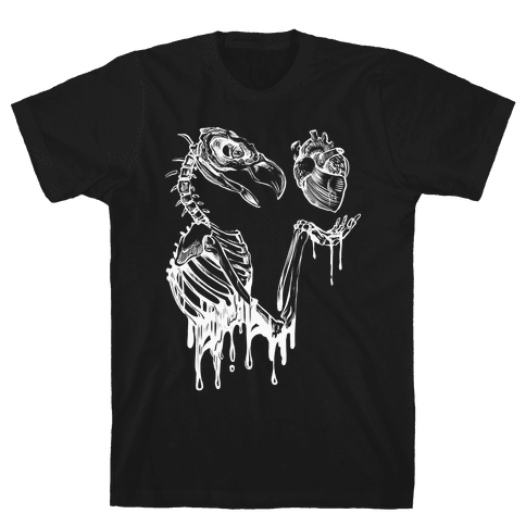 Heart Vulture Mens T-Shirt