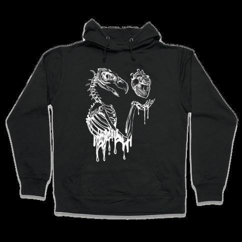 Heart Vulture Hooded Sweatshirt