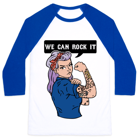 We Can Rock It Baseball Tee