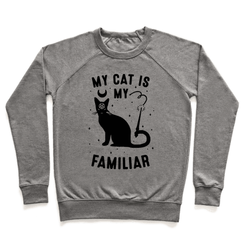 My Cat is My Familiar Pullover
