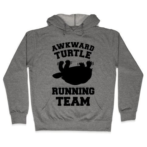 Awkward Turtle Running Team Hooded Sweatshirt