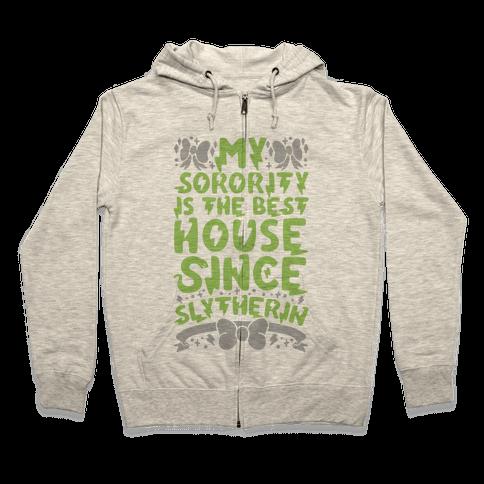 Slytherin Sorority Zip Hoodie