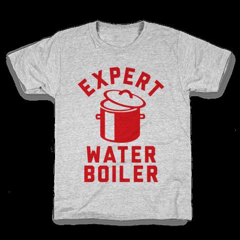 Expert Water Boiler Kids T-Shirt