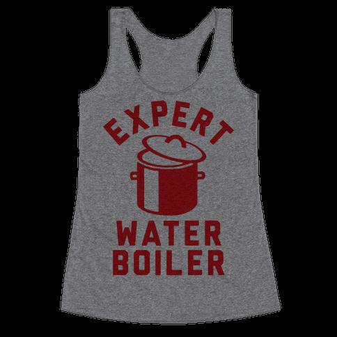 Expert Water Boiler Racerback Tank Top