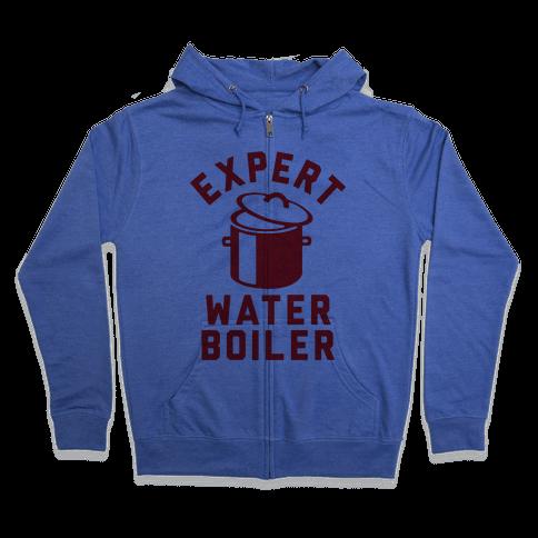 Expert Water Boiler Zip Hoodie