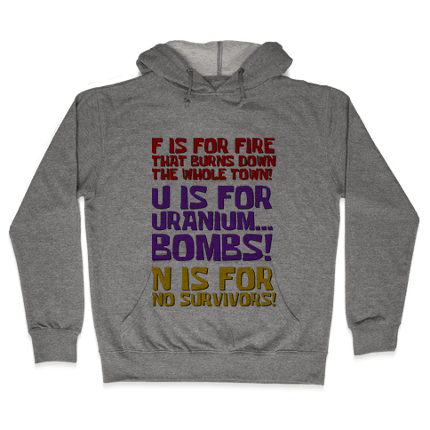Plankton's F.U.N. Song Hooded Sweatshirt