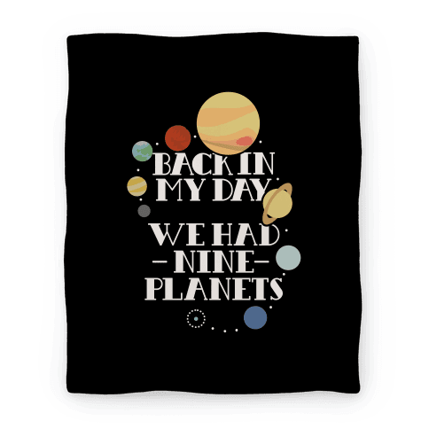 Nine Planets Blanket Blanket