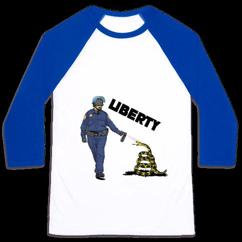 Don't Pepper Spray Liberty Baseball Tee
