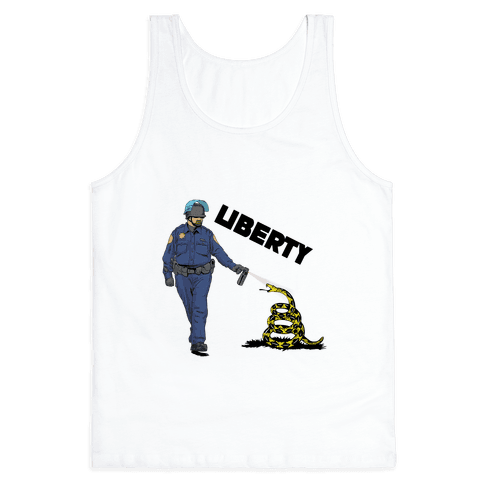 Don't Pepper Spray Liberty Tank Top