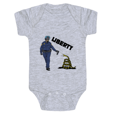 Don't Pepper Spray Liberty Baby Onesy