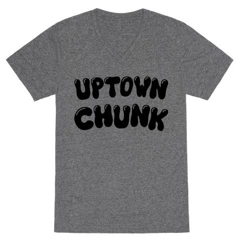 Uptown Chunk V-Neck Tee Shirt
