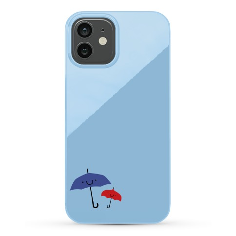 Cute Umbrella Couple Phone Case