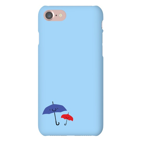 Cute Umbrella Couple Phone Case