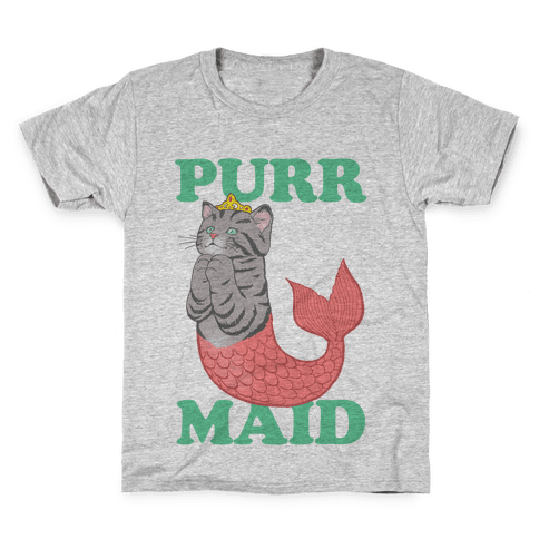 Purr Maid Kids T-Shirt