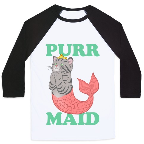 Purr Maid Baseball Tee