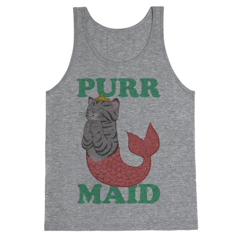 Purr Maid Tank Top