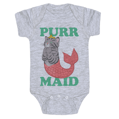 Purr Maid Baby Onesy