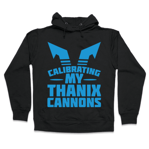Calibrating My Thanix Canons Hooded Sweatshirt