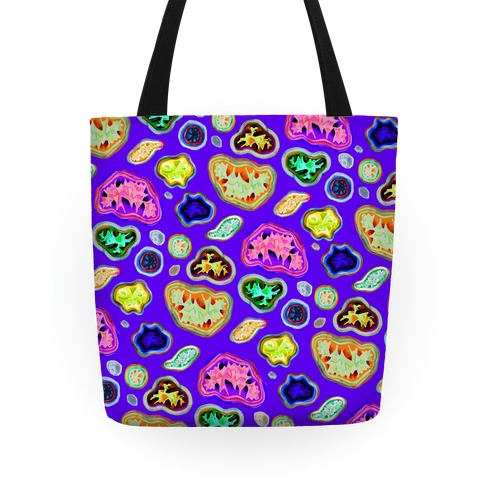 Geode Pattern Tote Tote