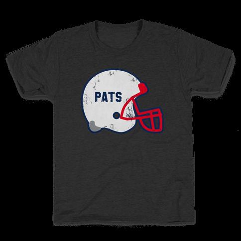 Pats Helmet Kids T-Shirt