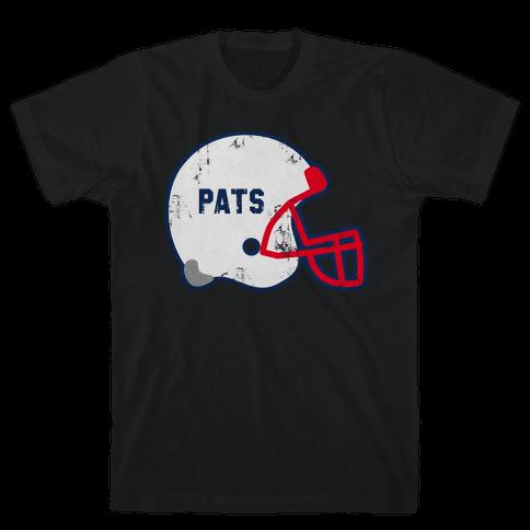 Pats Helmet Mens T-Shirt