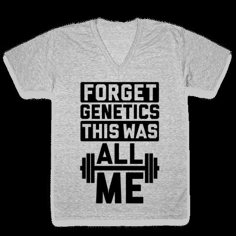 Forget Genetics V-Neck Tee Shirt