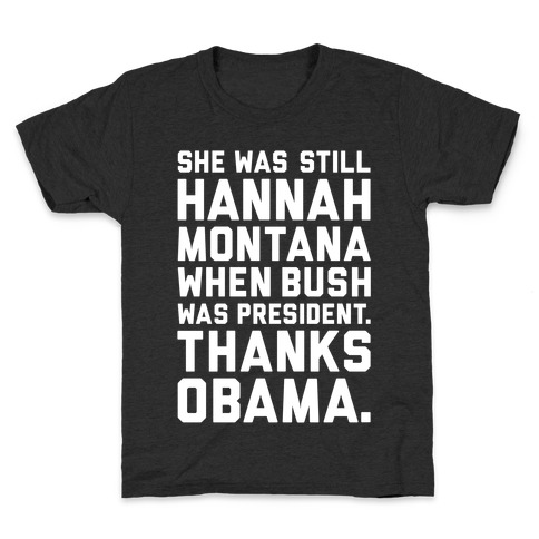 Thanks Obama Kids T-Shirt