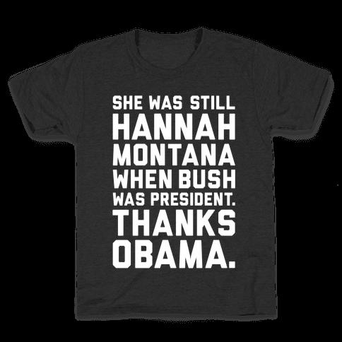 Thanks Obama Kids T-Shirt