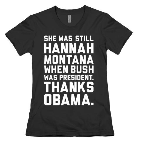 Thanks Obama Womens T-Shirt