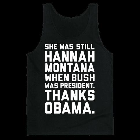 Thanks Obama Tank Top