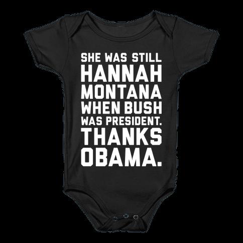 Thanks Obama Baby Onesy