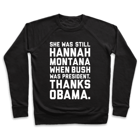 Thanks Obama Pullover