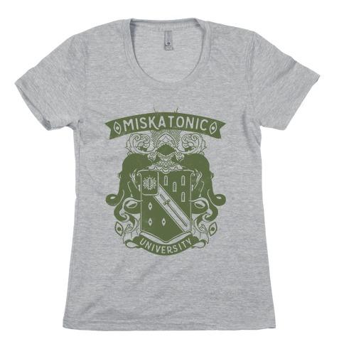 Miskatonic University Womens T-Shirt